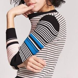 FOREVER 21 - ribbed multicolor sweater